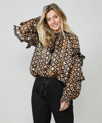Summum blouse met print