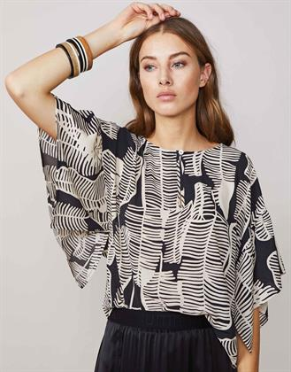 Summum blouse met vlindermouw