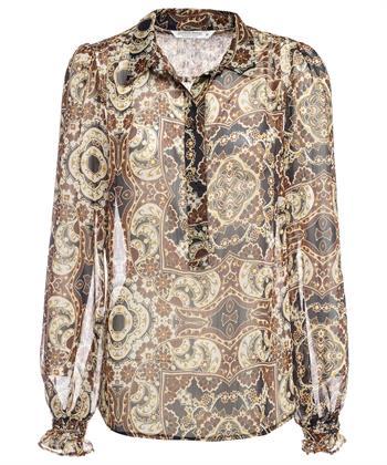 Summum blouse ornamentprint