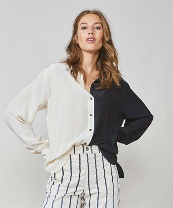 Summum colorblock blouse