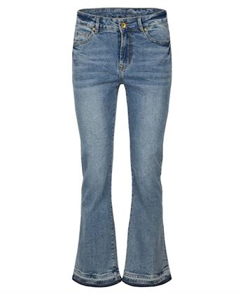 Summum cropped bootcut jeans