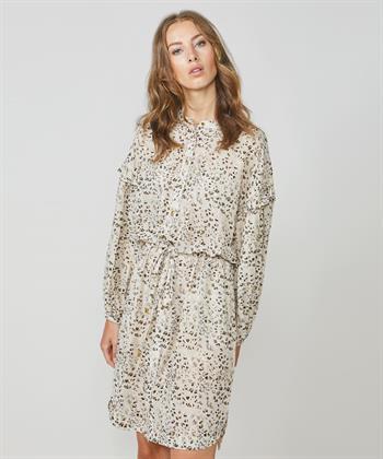 Summum jurk met panterprint