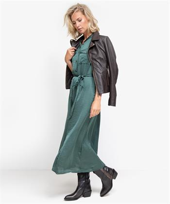 Summum maxi-jurk groen