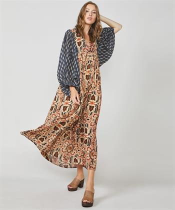 Summum maxi-jurk met print