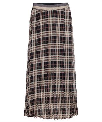 Summum plissé rok ruit