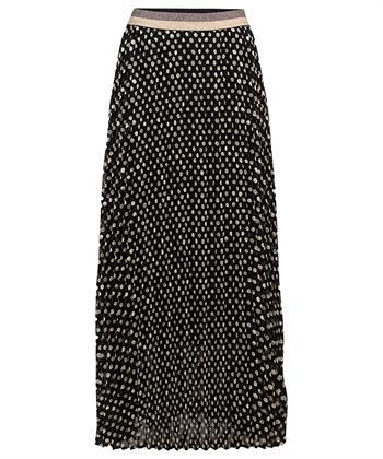 Summum plissé rok stippen