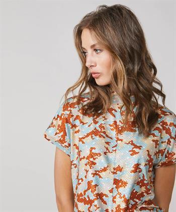 Summum shirt met camouflageprint
