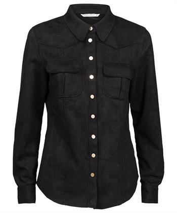 Summum suedine blouse