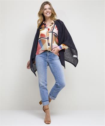 Summum transparante blouse