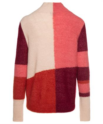 TURTLE COLORBLOCK POLY/MOHAIR
