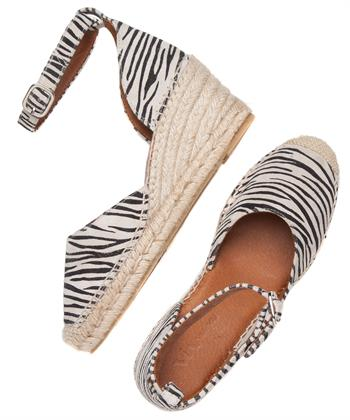 Via Vai espadrilles Flora Zebra